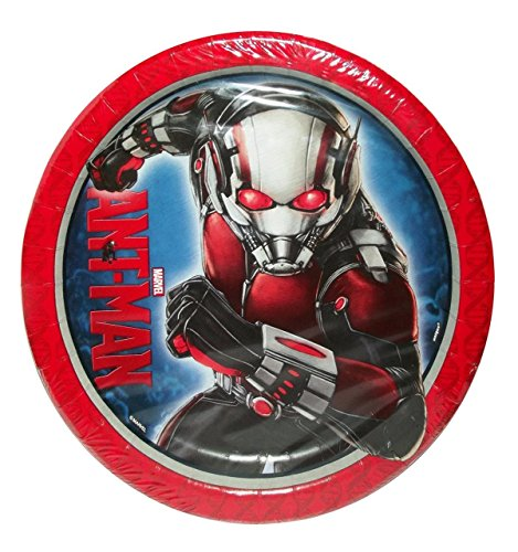 Marvel's Ant-Man 9-Inch Plates, 8-Count