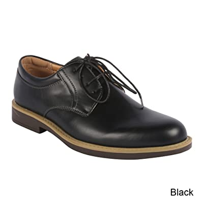 J's Awake Men's Edison-11 Oxfords Shoes,Black,6.5