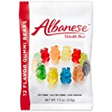 Albanese 12 Flavor Gummi Bears, 7.5 Ounce (Pack of 12)