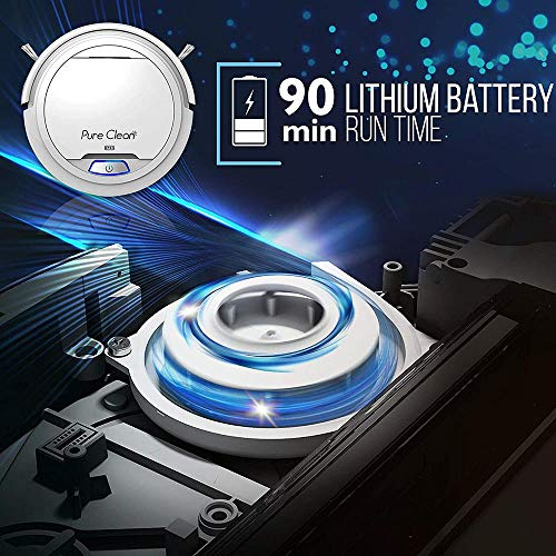 Pucrc25 Automatic Robot Vacuum Cleaner Lithium Battery