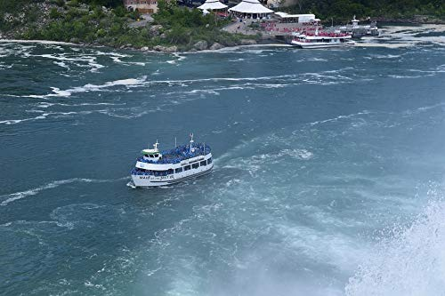 - Home Comforts Canvas Print Waterfall Maid of The Mist Niagara Falls State Park Vivid Imagery Stretched Canvas 32 x 24
