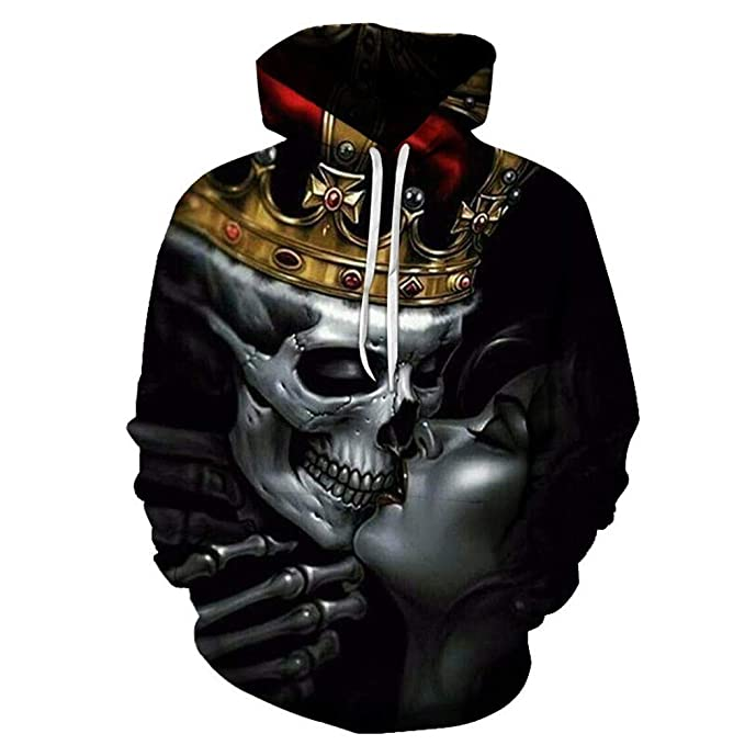 G-Anica Sudaderas con Capucha Hombre 3D Impresión Pullover Sudaderas De Tendencia Hoodie Sweatshirt de Mangas Largas Bolsillos Unisex: Amazon.es: Ropa y ...