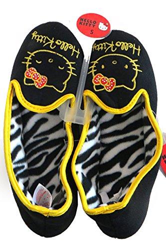 Scarvesme Licensierade Hello Kitty Mysig Zebra Inre Fleece Toffel