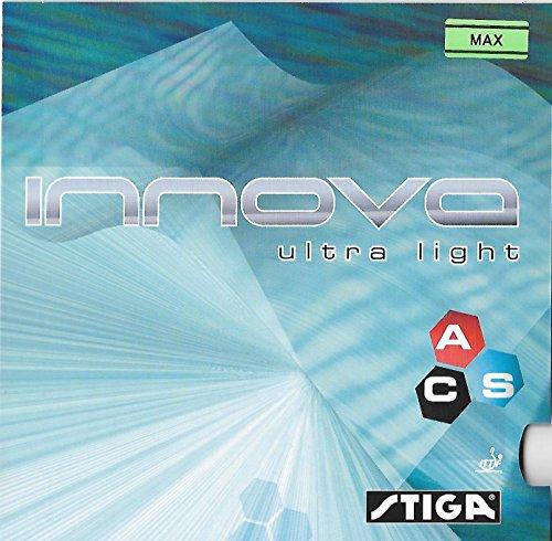 STIGA Innova Ultra Light, Red Color, Table Tennis Rubber by STIGA