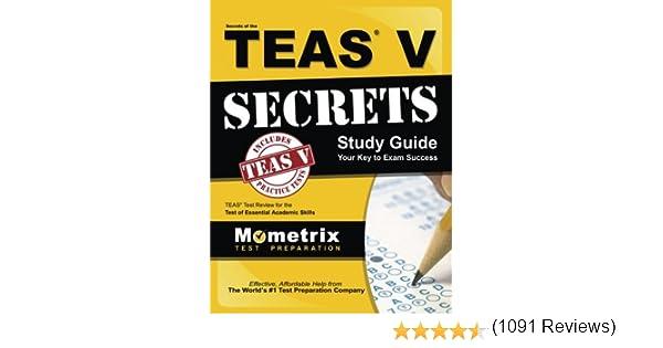 Secrets of the teas v exam study guide teas test review for the secrets of the teas v exam study guide teas test review for the test of essential academic skills 9781609710132 medicine health science books fandeluxe Images
