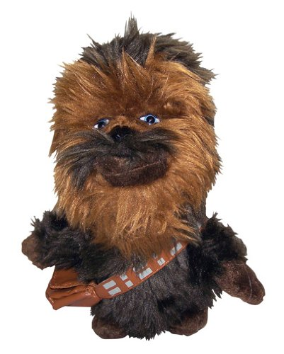 Comic Images Super Deformed Chewbacca Plush Toy 74143