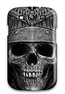 Tpu Case Cover Compatible For Galaxy S3/ Hot Case/ Skull