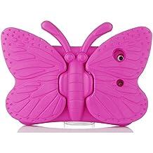 Eastchina iPad Mini Case,Non-toxic 3D Cartoon Light Weight EVA Shockproof Drop Proof Stand Case For Ipad Mini Mini 2 Mini 3 Mini 4 (iPad mini 1/2/3/4, Rose)