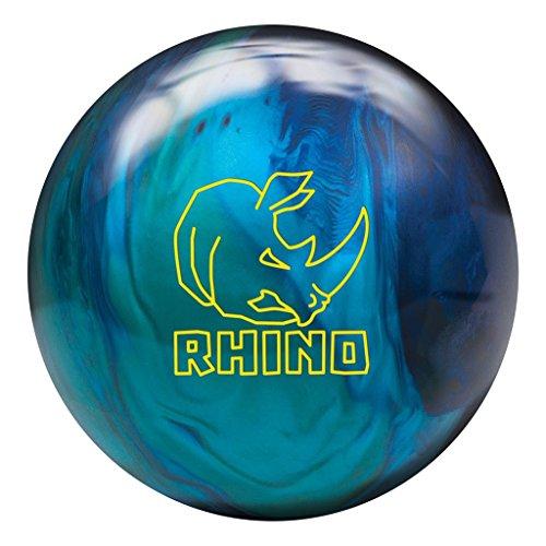 Brunswick Rhino Cobalt/Aqua/Teal Bowling Ball Cobalt/Teal/Aqua, 10lbs