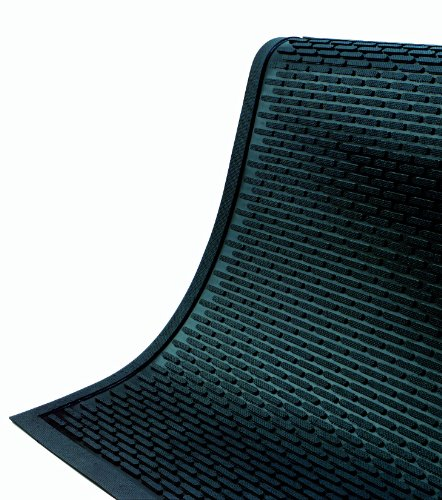 SuperScrape Durable Outdoor Rubber Scraper Mat 8' Length x 4