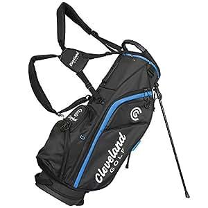 Cleveland 12102361 Bolsa de Tripode de Golf, Hombre, Negro/Azul, Talla Única