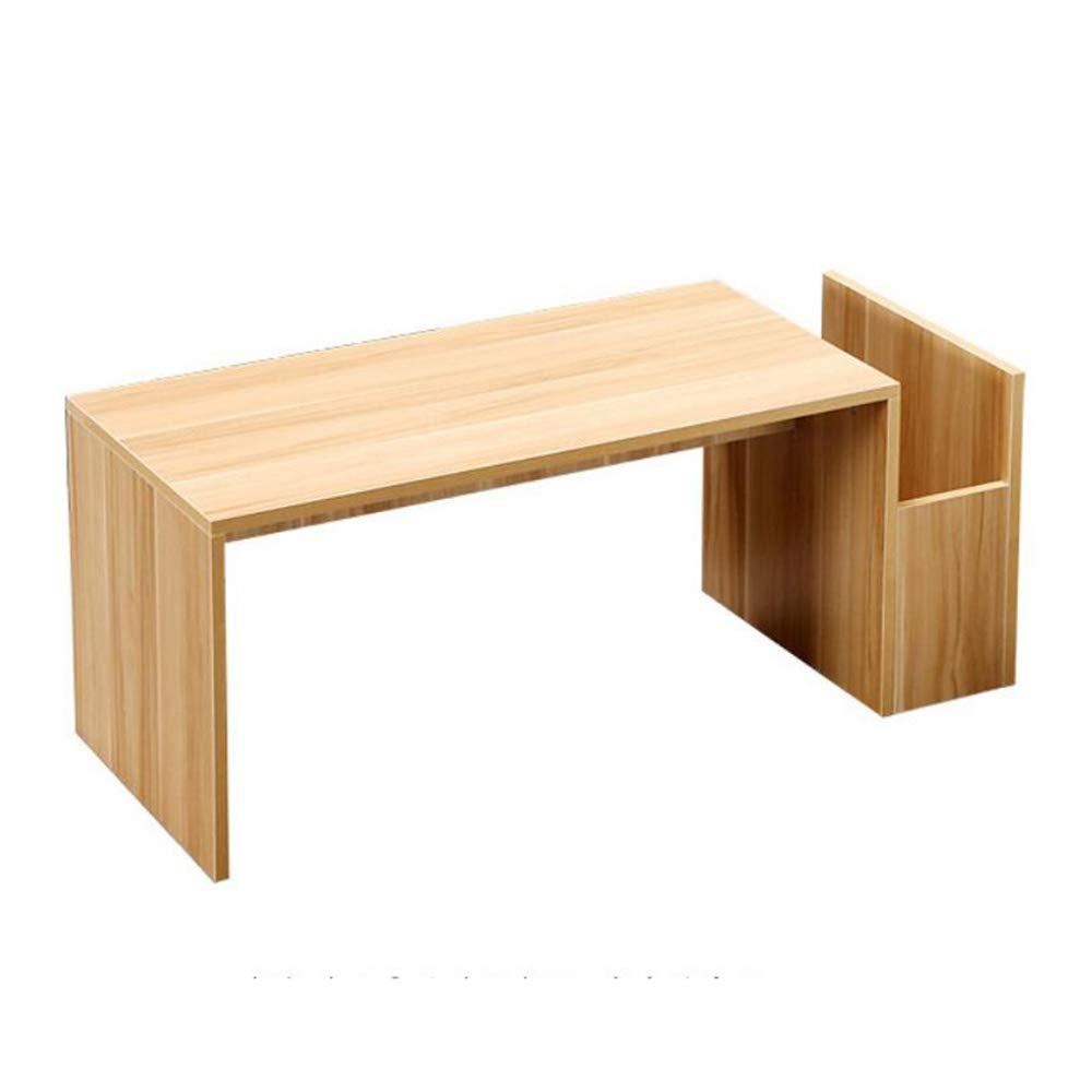 YNN ポータブルテーブル コンピュータテーブル、収納茶テーブルと小さなお茶/コーヒー/サイド/エンドテーブルクリエイティブローテーブルリビングルーム (色 : 02, サイズ さいず : 100*40*40cm) 100*40*40cm 2 B07PHJHSWJ