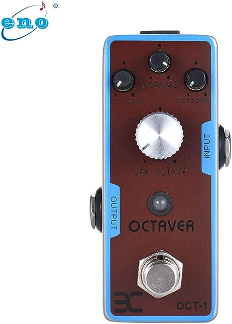 Fesjoy efecto guitarra EX OCT-1 OCTAVA Mini Octave Pedal de ...