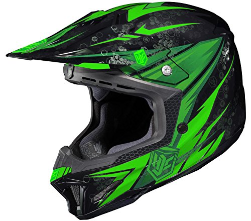 HJC CL-X7 Cross Up MC4 Motocross Helmet - X-Large