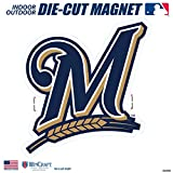 "Stockdale Milwaukee Brewers SD 12"" Logo MAGNET Die Cut Vinyl Auto Home Heavy Duty Baseball"