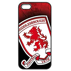 Middlesbrough Football Club Logo Personalized Design Customized Slim Durrable Plastic 3D Fantasy Case WRE595 for Iphone 4