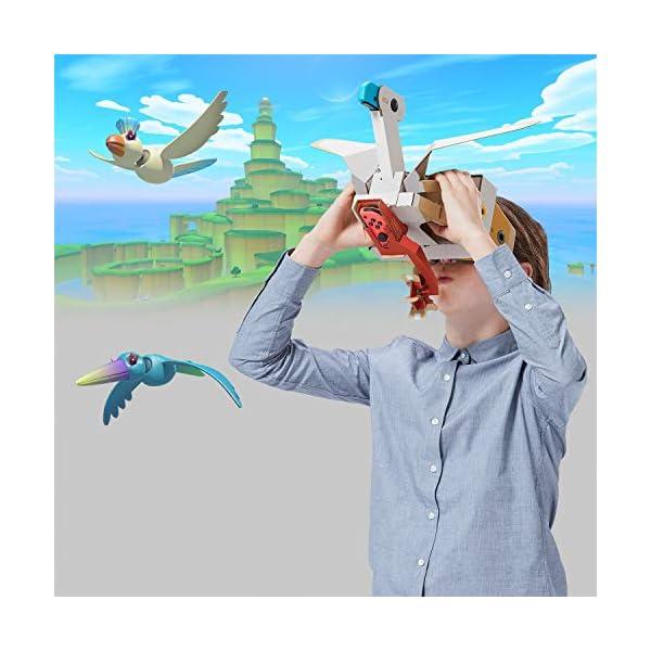 NSW NINTENDO LABO TOY-CON 04 VR KIT (BIRD + WIND PEDAL) (ASIA) 3