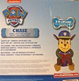 Paw Patrol CHASE with wreath Airblown inflatable 3 ft Tall Christmas
