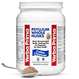 Cheap Yerba Prima PSYLLIUM WHOLE HUSKS Colon Cleanser, 20oz – (68 Servings)