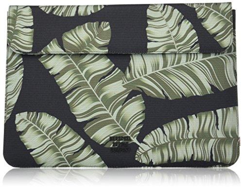 Herschel Supply Co. Men's Spokane Sleeve for 13 Inch Macbook, Black Palm, One Size