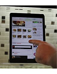 The Original Patented Kitchen IPad Rack / Holder For All IPads, Tablet PCu0027s  And Cookbooks Too (SuperClear Acrylic)