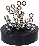 Linlinzz Magnetic Sculpture – Desk Toy for Intelligence Development Stress Relief (Nuts)
