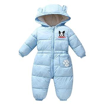 Toddler Baby Girls Hoodie Fleece Coat Warm Winter Hooded Outwear Jacket Snowsuit