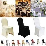 50/100X Hotel Wedding Chair Cover Universal High Elastic Banquet Chair Cover USA