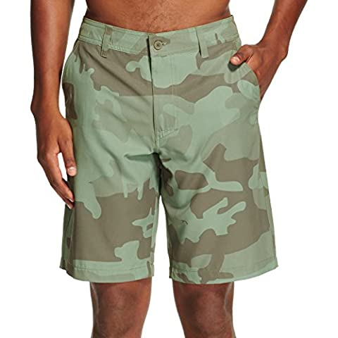 Men's Hybrid Swim Shorts Bright Olive - Mossimo Supply Co. (30) (Mossimo Supply Co For Men)