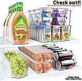 Greenco Stackable Refrigerator Storage Bin With
