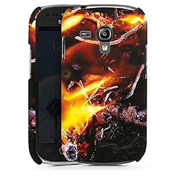 Carcasa Samsung Galaxy S2 Fire Fire Demon, plástico, Premium ...
