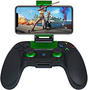 Mobile Game Controller,Haolide Wireless Bluetooth Controller Gamepad Compatible with Android/iOS