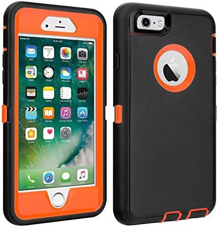 Shockproof Protective Anti shock Shatter resistant Black orange product image