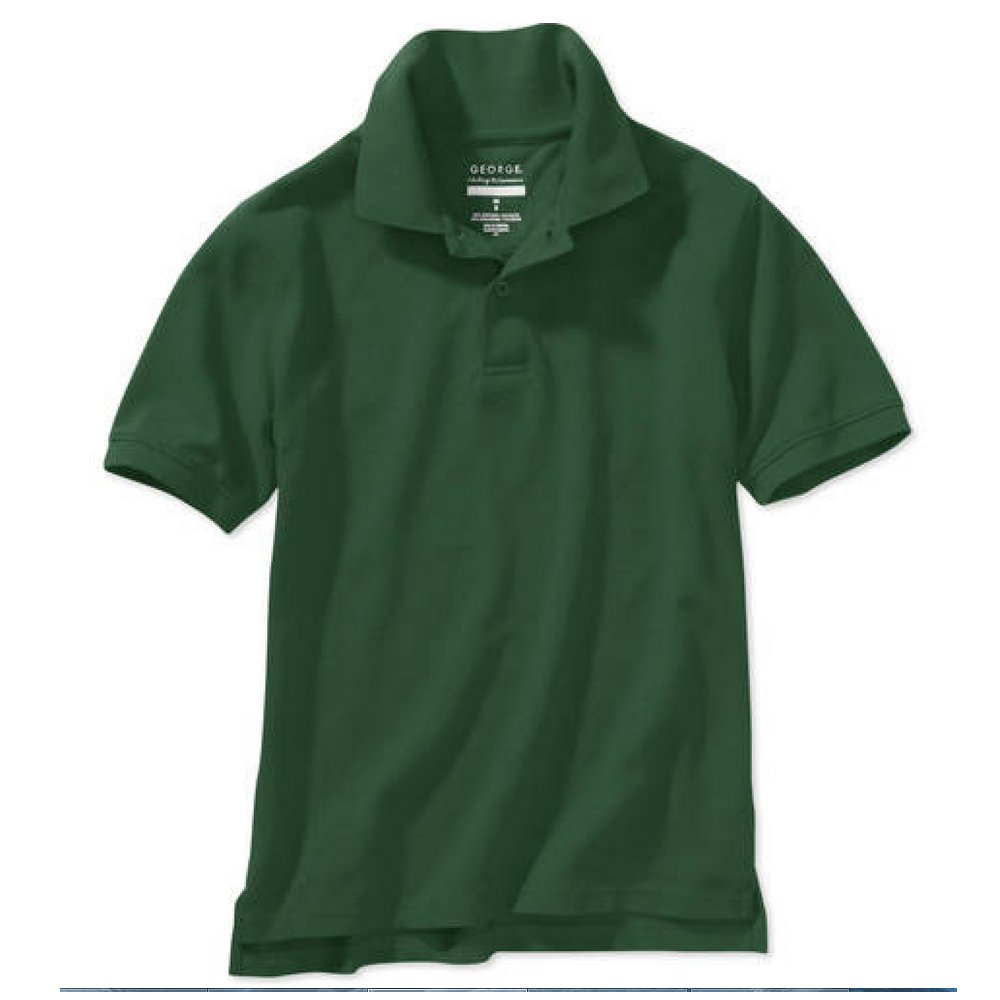 George Boy's School Uniform - Short Sleeve Polo Shirt