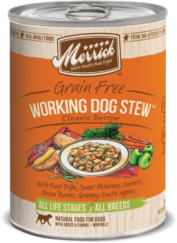 Merrick Working Dog Stew Dog Food 13.2 oz (12 Count Case), My Pet Supplies