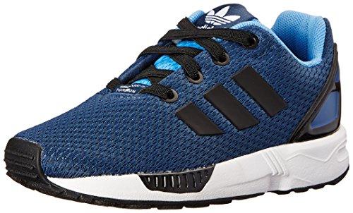 adidas Originals ZX Flux EL I Running Shoe , Rich Blue/Black