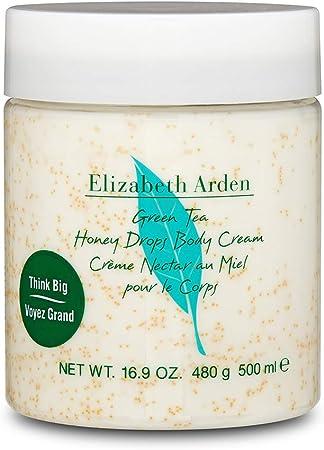 Nuestra crema corporal súper humectante con una mezcla de miel real y extracto de té verde ayuda a c
