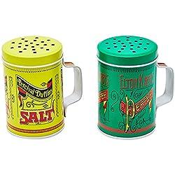 Conjunto de Saleiro e Pimenteiro Grill & Pizza Verde