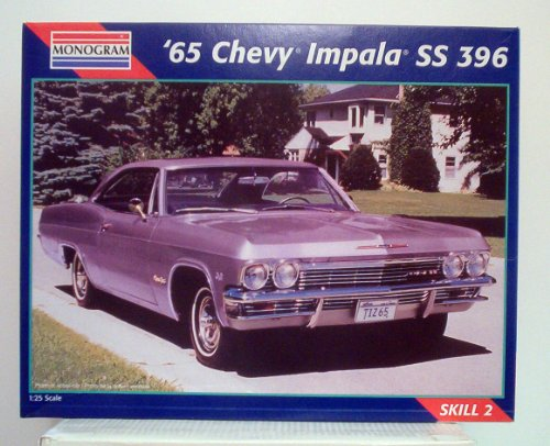Monogram '65 Chevy Impala SS 396 1:25 Scale Model Kit