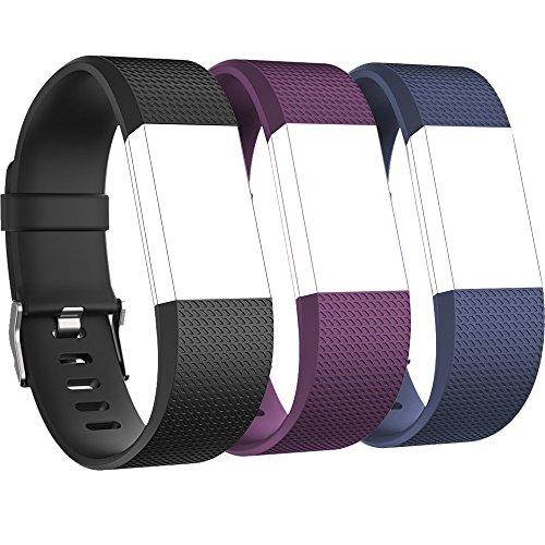 RedTaro Replacement Elastomer Wristband Fitbit