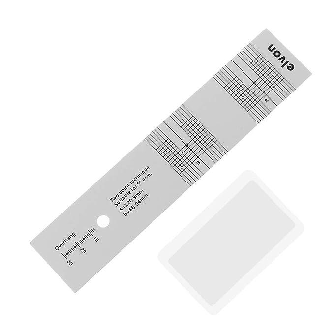 VvXx - Lupa para calibración de pastillas, medidor de distancia ...