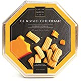 Salem Baking Company Aged Sharp Cheddar Petite Cheese Straws In Octagon Shaped 9oz Tin
