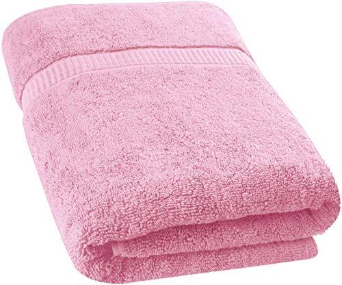 Utopia Towels - Toalla de baño Extra Grande y Suave Lavable en la Lavadora (89 x 178 cm) (Rosa): Amazon.es: Hogar
