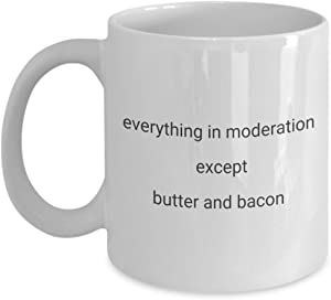 funny coffee mug for cooks, chefs, foodies - birthday gift for friends, gift idea for foodie women, foodie men, keto dieters, keto lovers. food lover
