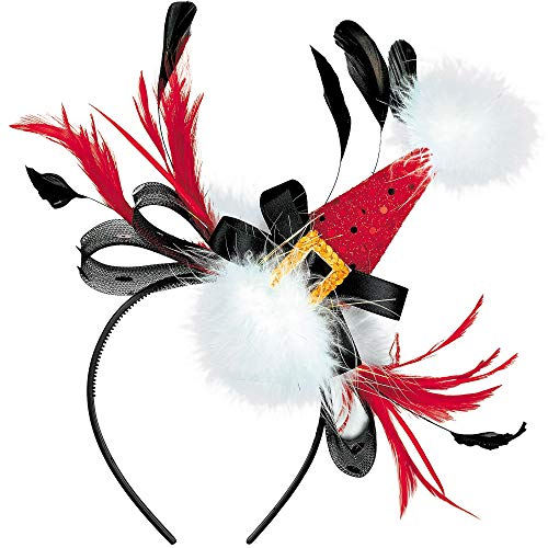 Amscan Multicolored Fashionable Fabric Headband | Christmas Accessory -