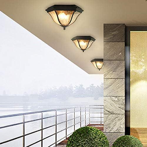 Home Deckenleuchte Balkon Outdoor Wasserdichte Pavillon Lampe Korridor Gang Hof Bad Veranda Beleuchtung Balkon Dekoration Lampen Deckenleuchte Led Dimmbar
