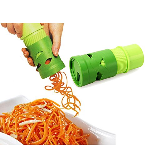 Easywin Sharp Peeler Vegetable Twister Vegetable Spiral Slicer  Vegetable Cutter