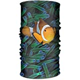 Clownfish 16-in-1 Magic Scarf,Face Mask,Fishing Mask,Balaclava Bandana