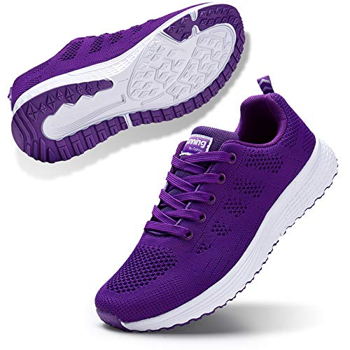 STQ Womens Walking Tennis Shoes Lightweight Sneakers Athletic Sports Shoes