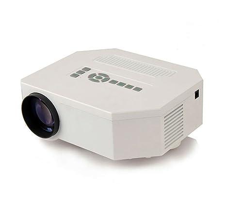 Portátil mini proyector NIUTOP, portátil Mini 1080 P HD 640 * 480 ...